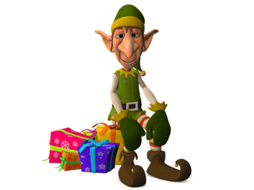 Elf-with-presents